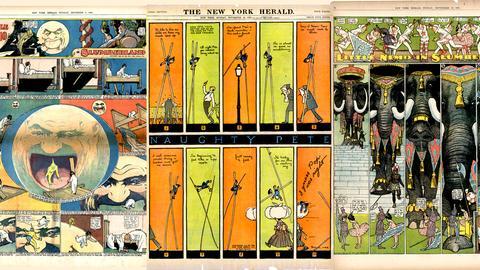 Comic-Pioniere – eine andere Avantgarde