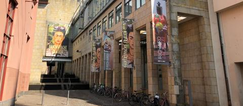 Eingang zur Schirn Kunsthalle in Frankfurt