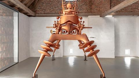 Bruno Gironcoli, Ohne Titel, 1996