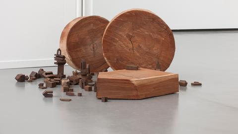 Skulptur von Werner Pokorny
