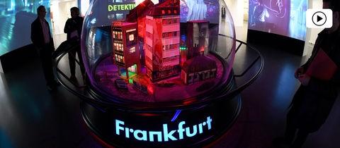 Historisches Museum Frankfurt Schneekugel