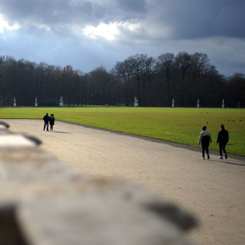 Spaziergänger in Kassel