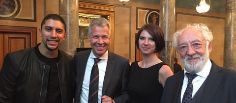 Preisträger bei der Verleihung in Wiesbaden