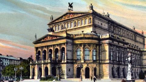 Opernhaus um 1900