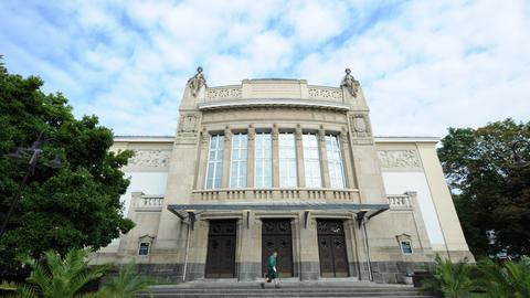 Das Stadttheater Gießen