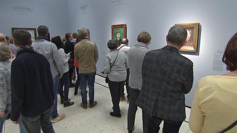 """Bestens besucht: """"Making van Gogh"""" im Städel."""