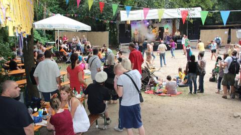 Impression vom Steinbruch-Festival