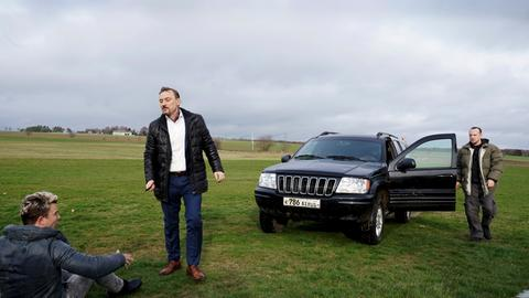 Auseinandersetzung unter Gangstern: Guy fühlt sich von seinem Bruder Rick hintergangen. Gedreht wurde auf dem Flughafen Anspach-Taunus in Wehrheim