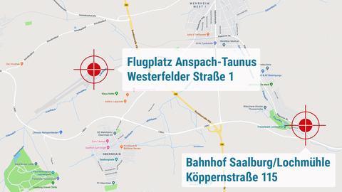 Gleich zwei Mal dreht das Tatort-Team in Wehrheim: einmal auf dem Flugplatz und zum anderen Mal am Bahnhof Saalburg/Lochmühle
