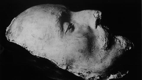 Shakespeares Totenmaske in Darmstadt