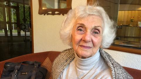 Auschwitz-Überlebende Éva Pusztai-Fahidi