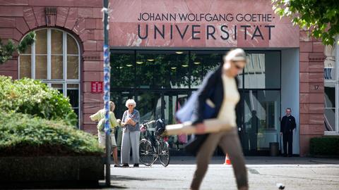 Ein Goethe-Uni Campus Bockenheim