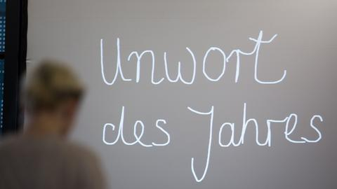 "Tafel: ""Unwort des Jahres"""