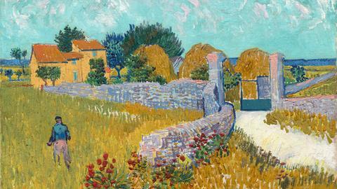 Vincent van Gogh, Der Weg nach Arles, 1888