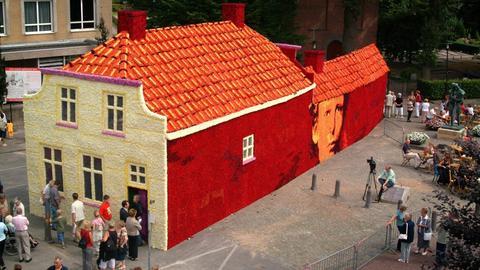 Rekonstruktion von van Goghs Geburtshaus