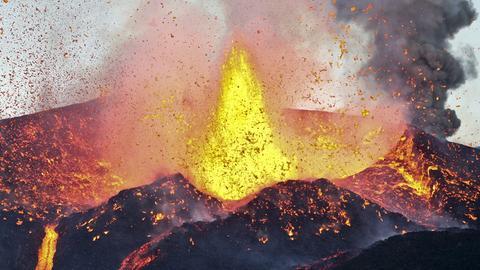 Vulkanausbruch auf den Kapverdischen Inseln