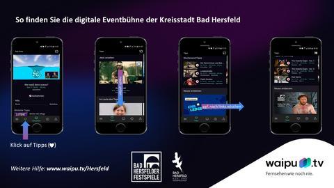 Waipu.tv Bad Hersfeld, Grafik zur Auffindbarkeit im Internet