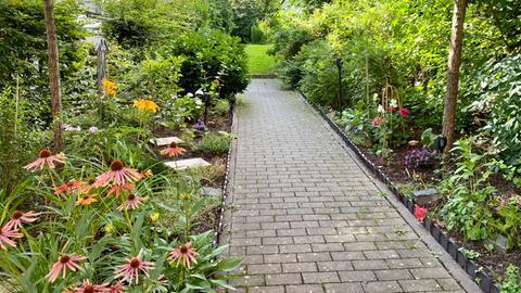 Der Garten im Haus Sen-Se