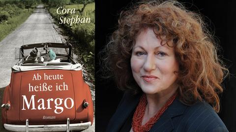 Cora Stephan und Buchcover