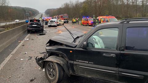 Unfall A5 Friedberg