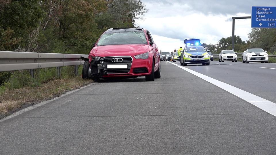 +++ Unfall auf A67 nach Standspur-Streit +++ 365...