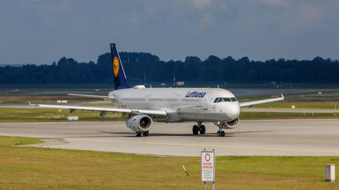 Airbus 321 der Lufthansa
