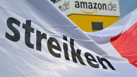 Streik bei Amazon in Bad Hersfeld