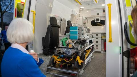 Baby-Krankentransportwagen Fulda