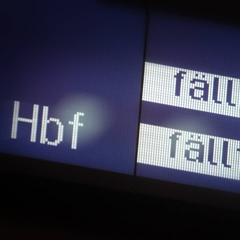 Bahn Ausfälle