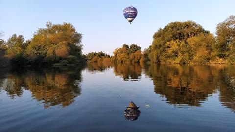 Heißluftballon über Limburg