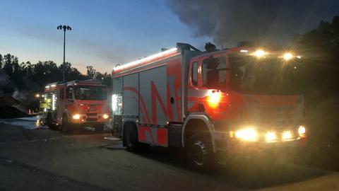 Feuerwehreinsatz in Mainz-Amöneburg