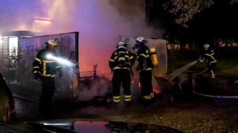 Feuerwehreinsatz in Bad Homburg