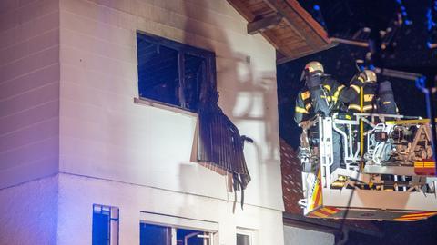 Wohnhausbrand in Biebergemünd