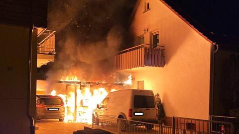 Brand Darmstadt-Eberstadt