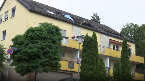 Brand in Kassel