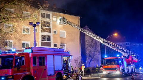 Brand Rüsselsheim