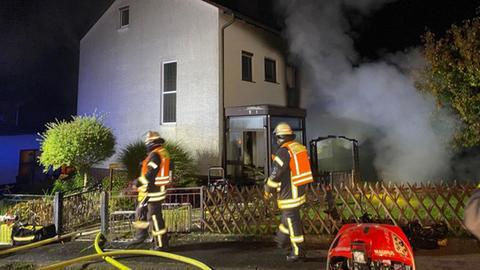 Brand in Schwalmstadt