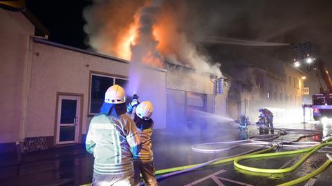 Großeinsatz der Feuerwehr in Wehrheim