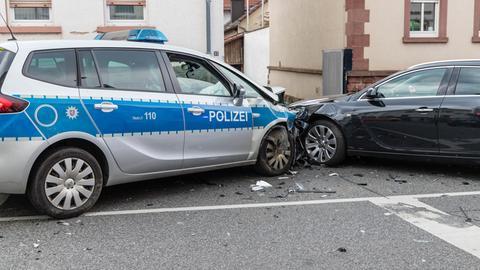 Unfall Polizei Auto Kelkheim