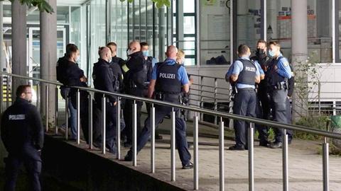 TU Darmstadt Polizei Einsatz