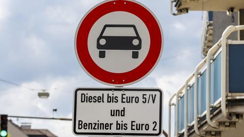Fahrverbot in Darmstadt