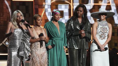 Michelle Obama bei den Grammys