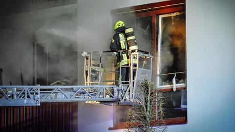 Feuerwehreinsatz in Geisenheim