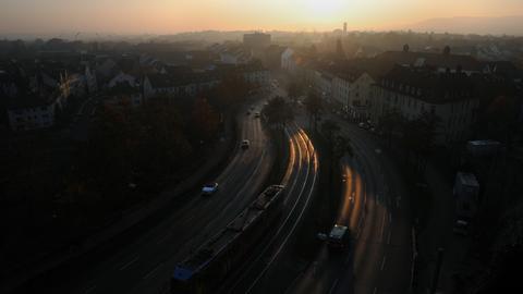 Die Frankfurter Straße in Kassel