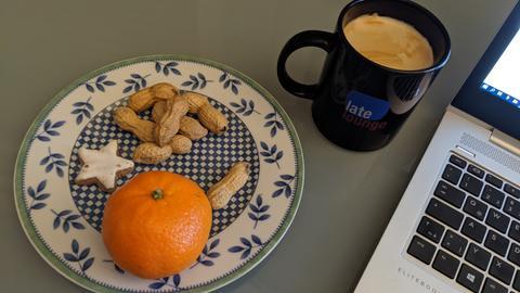 Vorweihnachtsfrühstück
