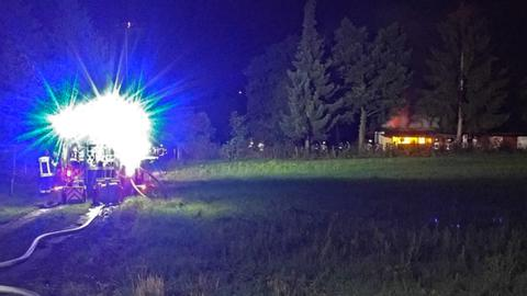 Feuerwehreinsatz in Schierstein