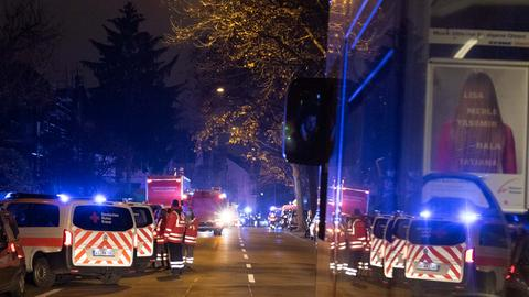 Gasleitung defekt Einsatz Feuerwehr