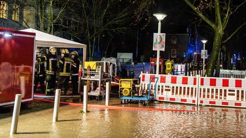 Hochwasser Wiesbaden