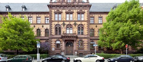Justizgebäude in Frankfurt.