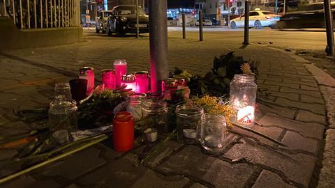 Trauerkranz Frankfurt Unfall Mörfelder Landstraße
